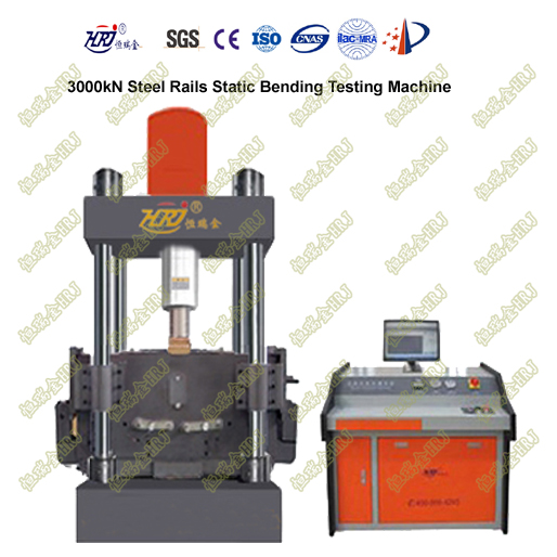 3000kN Steel Rail Static Bending Testing Machine