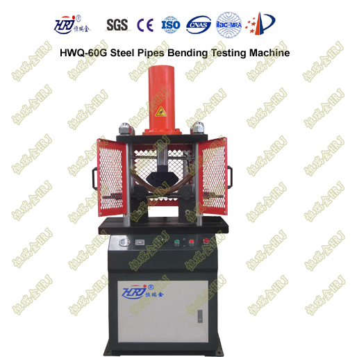 HWQ-60G Steel Pipes Bending Testing Machine