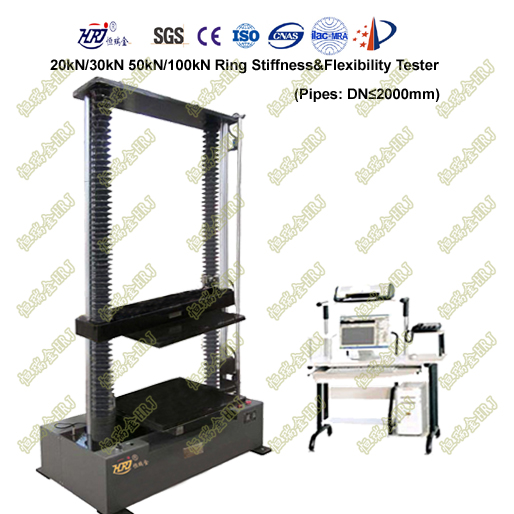 WDW-20R/50R/100R 2m Pipes Ring Stiffness Testing Machine (large space)