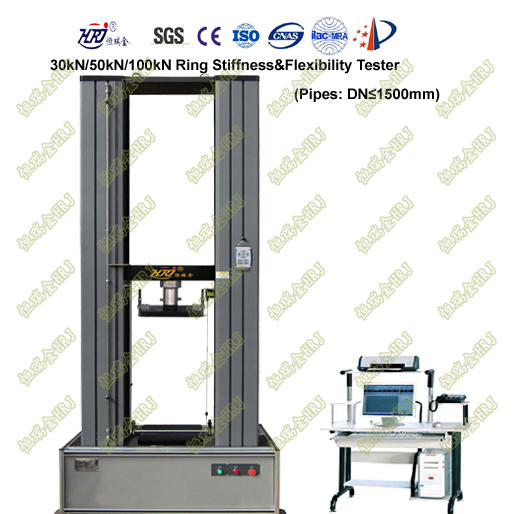 WDW-30R/50R/100R Ring Stiffness Testing Machine (1.5m Test Space)