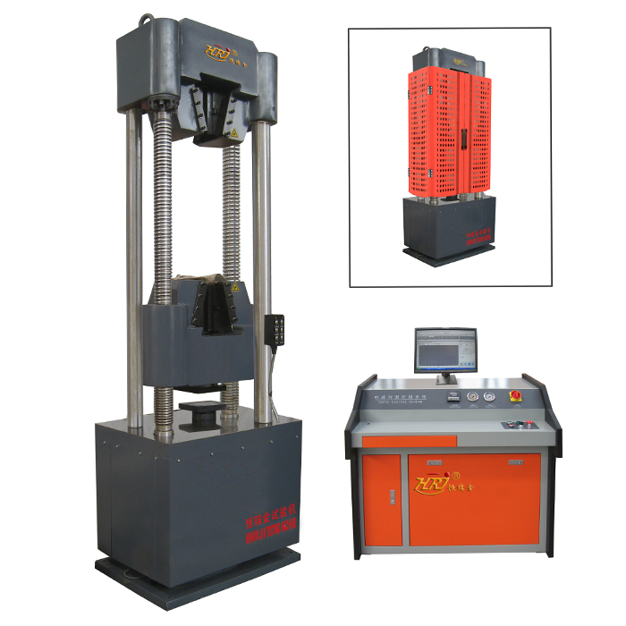 WAW-G600D/G1000D Steel Strand Tensile Testing Machine (4 columns)